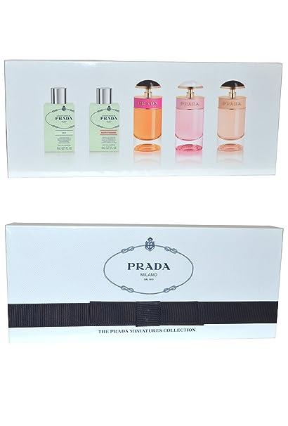 Prada Women Miniature Gift Set 8ml Infusion dIris EDP Fleur dOranger +
