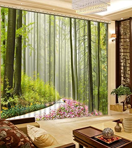 Amazon Com Sproud High End 3d Printing Curtains Beautiful Variety