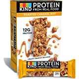 KIND Protein Bars, Toasted Caramel Nut, Gluten Free, 12g Protein,1.76 Ounce (12 Count)