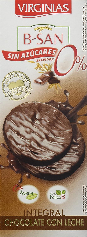 Virginias Galleta B-San Chocolate Con Leche Sin Azúcares - 120 g