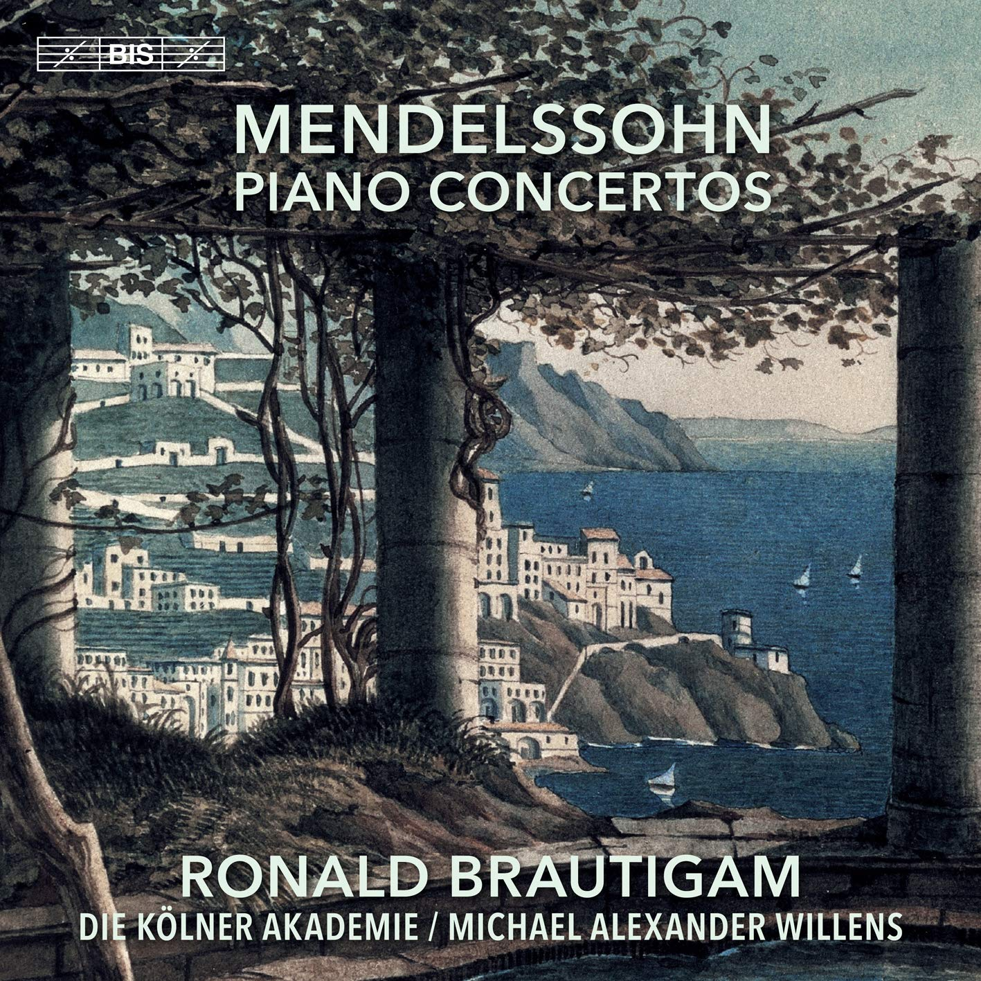 SACD : BARTHOLDY / BRAUTIGAM / DIE KOLNER AKADEMIE - Piano Concertos (Hybrid SACD)