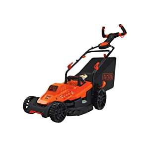 "BLACK+DECKER BEMW472ES Electric Mower 15"" Lawn Pivot Control Handle"