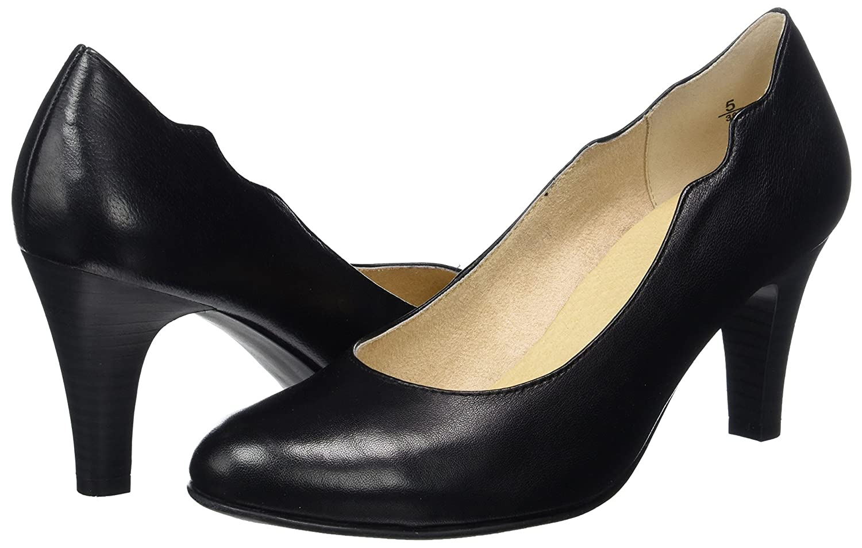 CAPRICE (schwarz Damen 22406 Pumps, Schwarz (schwarz CAPRICE Nappa) d5b3da