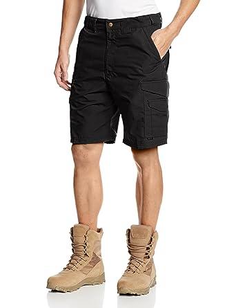 7144653da3 Tru-Spec Men's 24-7 Polyester Cotton Rip Stop 9-Inch Shorts: Amazon ...