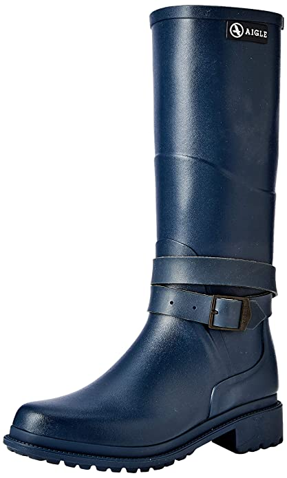 low priced 6512d f7825 Aigle Damen Macadames Gummistiefel