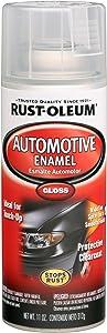 Rust-Oleum Automotive 257884 11-Ounce Enamel Spray, Gloss Clear