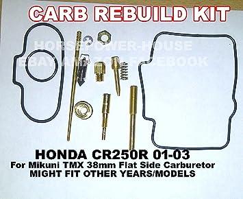 carb carburetor rebuild kit with gasket main pilot slow jet needle rh amazon ca