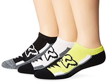 3 Pares De Calcetines Tobilleros Fox Perf No Show Socks Negro (S/M,