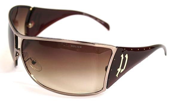 Amazon.com: Police anteojos de sol S metal 8297 xa40 ...