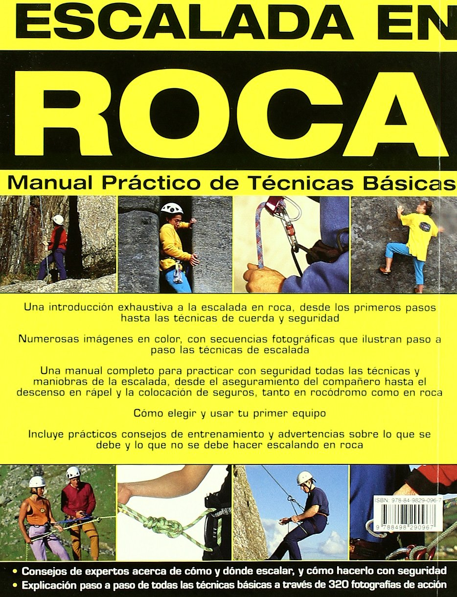 Escalada en roca - manual practico de tecnicas basicas ...