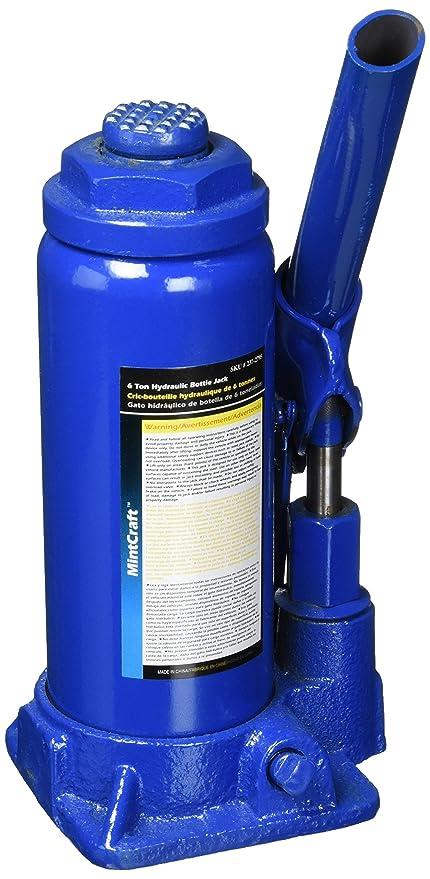 Mintcraft Jl-t906033l 6 Ton Hydraulic Bottle Jack