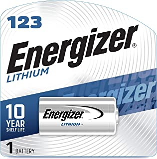 product image for Energizer 123 Lithium Batteries, 3V CR123A Lithium Photo Batteries (1 Battery Count)