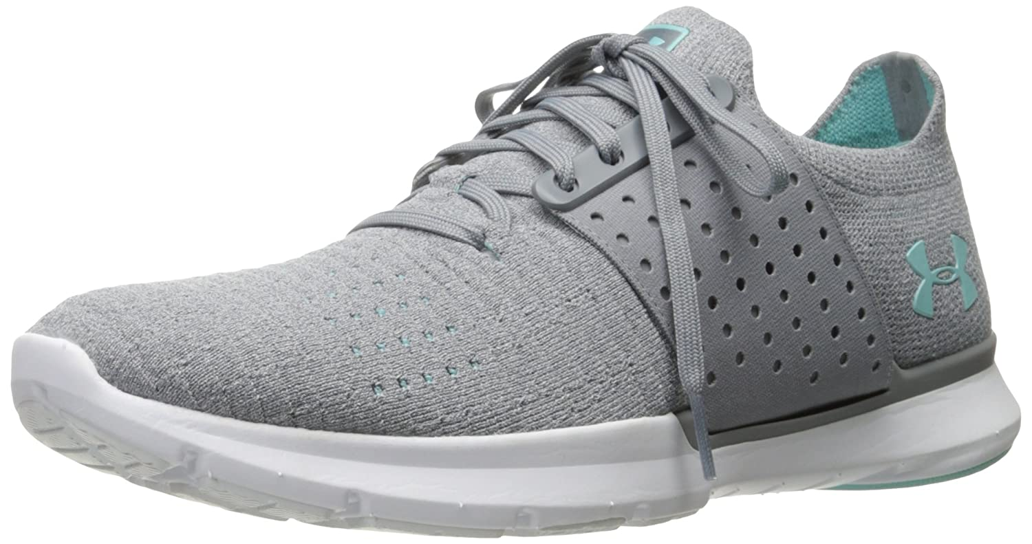 Under Armour Women's Speedform Slingwrap Running Shoe B01N2S9I30 12 M US|Glacier Gray (100)/Steel