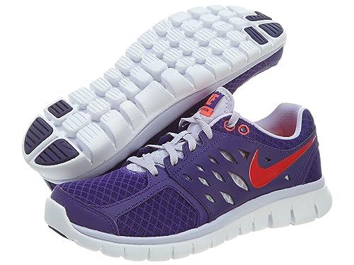 47b14194370 Nike Flex 2013 Run Women s Mesh Running Shoes UK 7  Amazon.in  Shoes    Handbags