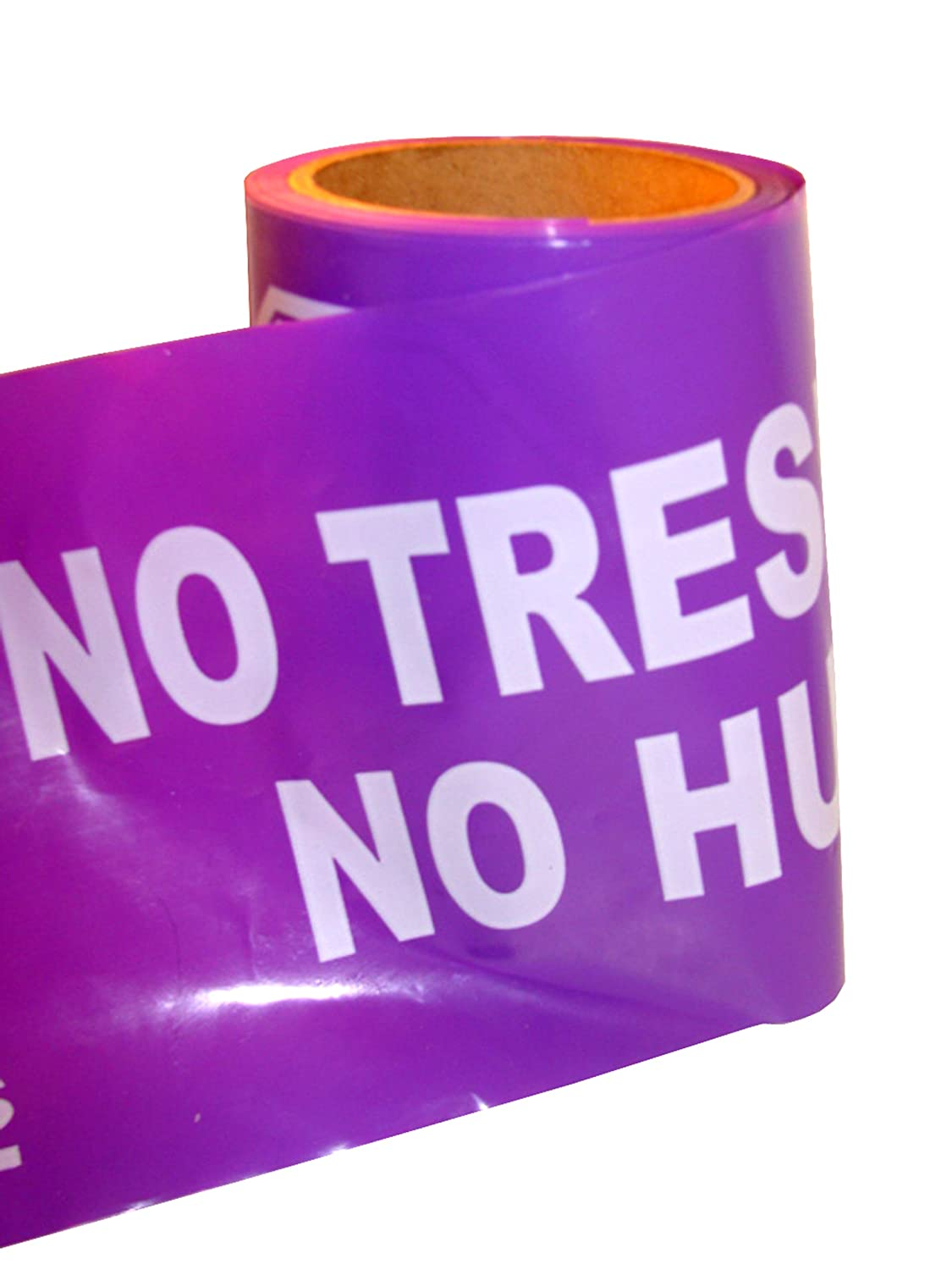 Purple Boundary Tape No Trespassing No Hunting durable modeling