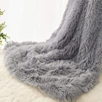 EMME Baby Blanket Super Soft Fuzzy Faux Fur Blanket Plush Warm Receiving Blanket for Girl and Boy Cozy Blanket for Crib…