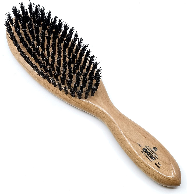 KENT ケント レディース 女性用 ヘアブラシ ヘアケア 豚毛ヘアブラシ 英国製 英国王室御用達 [並行輸入品]