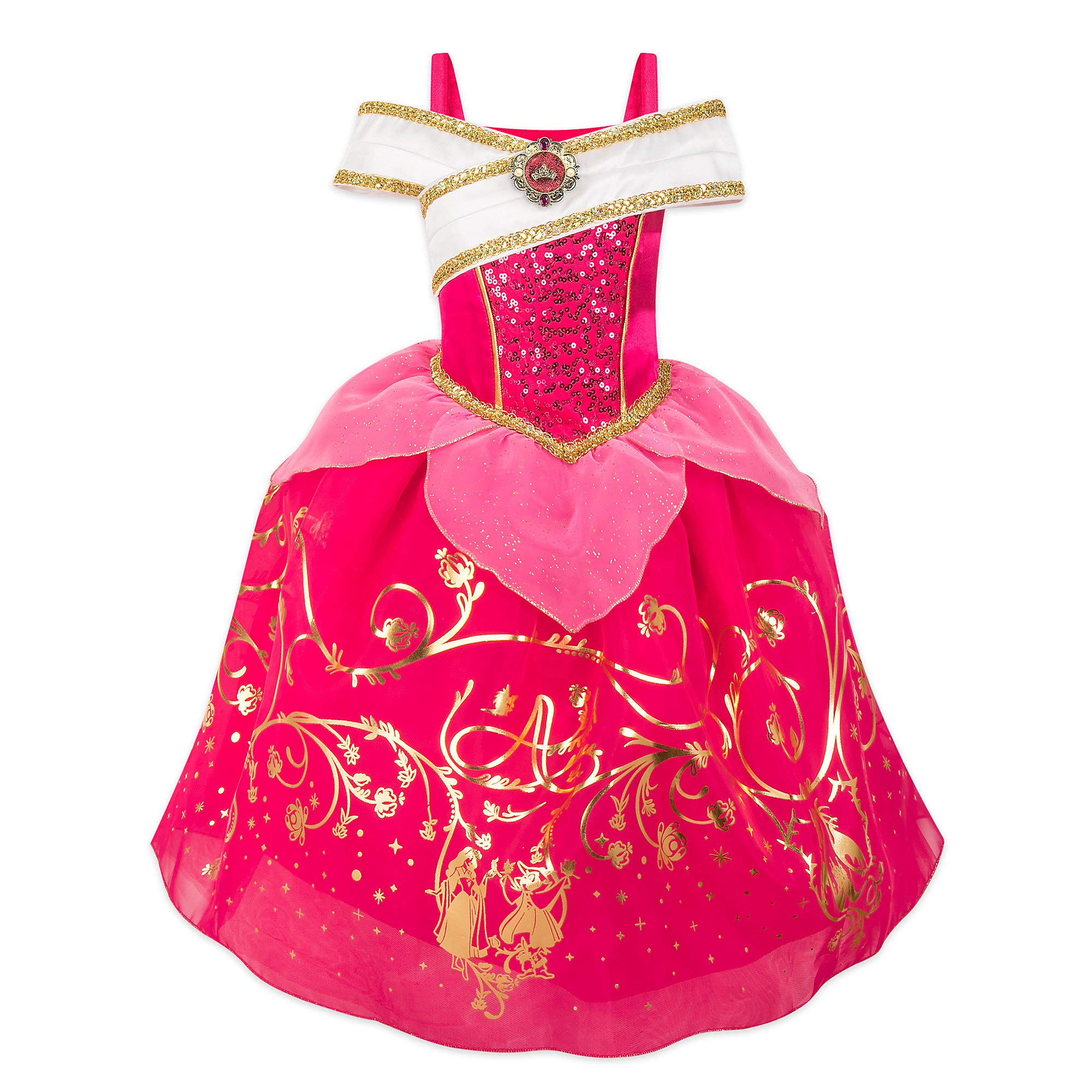 Disney Aurora Costume for Kids - Sleeping Beauty Size 5/6 Pink