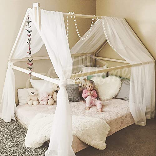 Amazon.com: Queen size house bed for toddler: Handmade