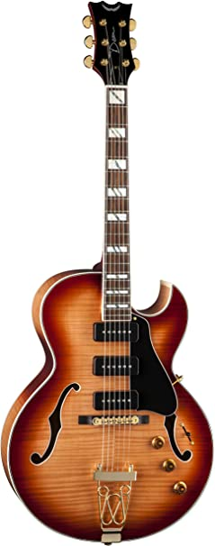 Dean Guitars Palomino Fm Hsb Semi Hollow Body Electric Guitar Amazon Ca Musical Instruments Stage Studio