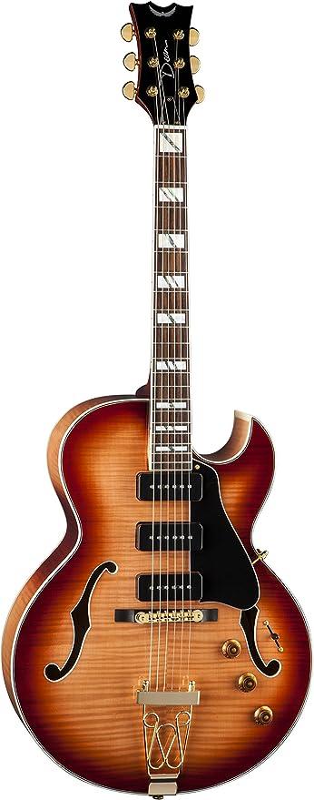 Dean Palomino Fm Hsb Semi Hollow Body Electric Guitar Musical Instruments