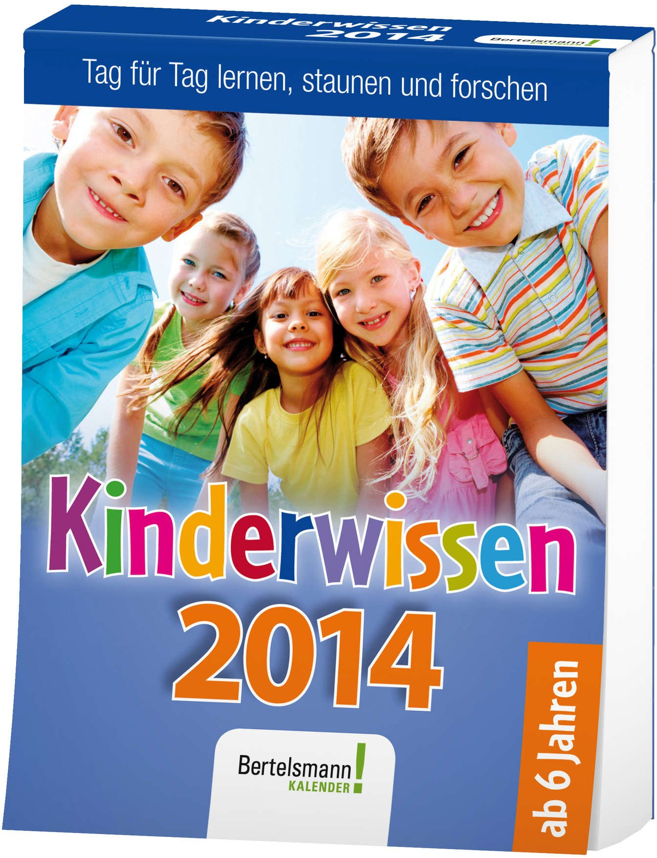Kinderwissen 2014: Tag für Tag lernen, staunen und forschen