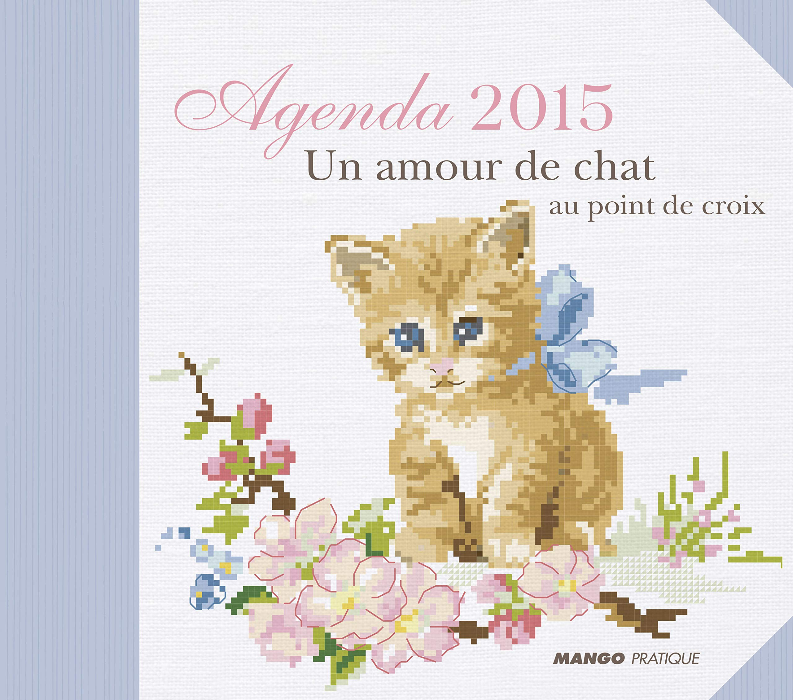 Agenda Point De Croix 2015 Chat French Edition Collectif 9782812501531 Amazon Com Books