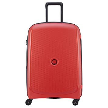 DELSEY Paris Belmont Plus Maleta, 76 cm, 102 Liters, Rojo (Rouge)