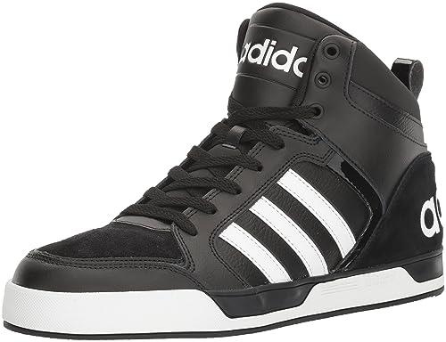 official photos 8d614 5d68d Adidas Neo - Zapatos para Basket, Hombres, Negro Blanco Negro