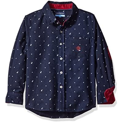 Andy & Evan Boys' Holiday Flannel Button Down Shirt
