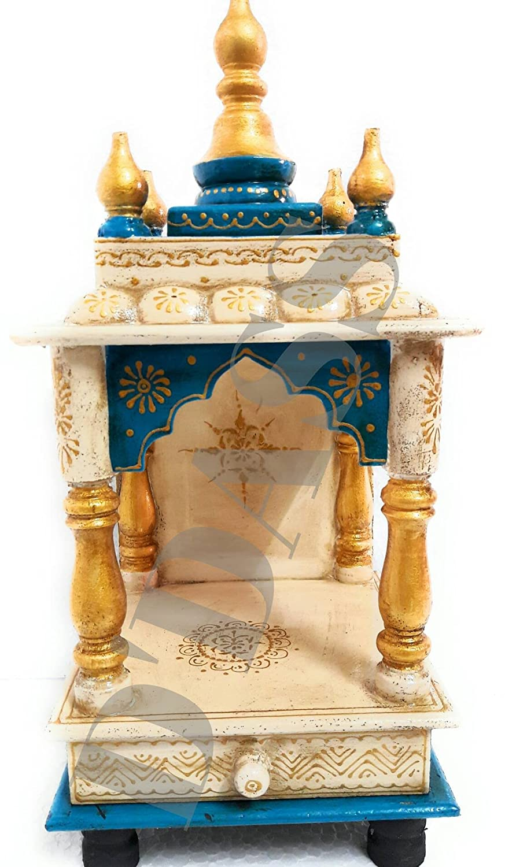 buy d u0027dass wooden vintage home temple for home rajasthani vintage