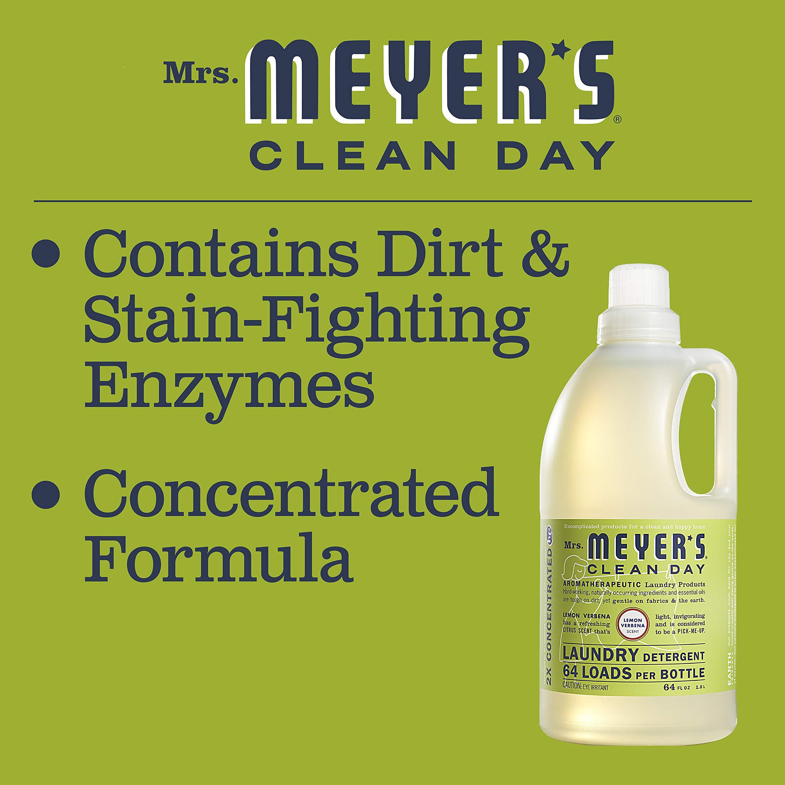 Mrs Meyer S Laundry Detergent Lemon Verbena 64 Fl Oz