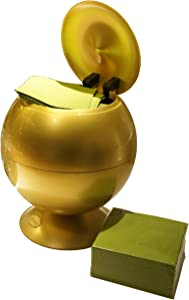 iTouchless Sensor Apple Napkin/Tissue dispenser, Glossy Gold