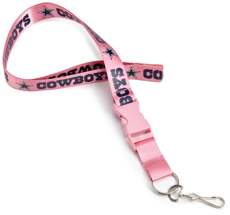Amazon.com: NFL Dallas Cowboys Lanyard, color rosa: Sports ...