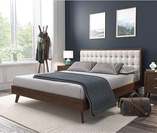 Amazon Com Dg Casa Soloman Mid Century Modern Tufted Upholstered