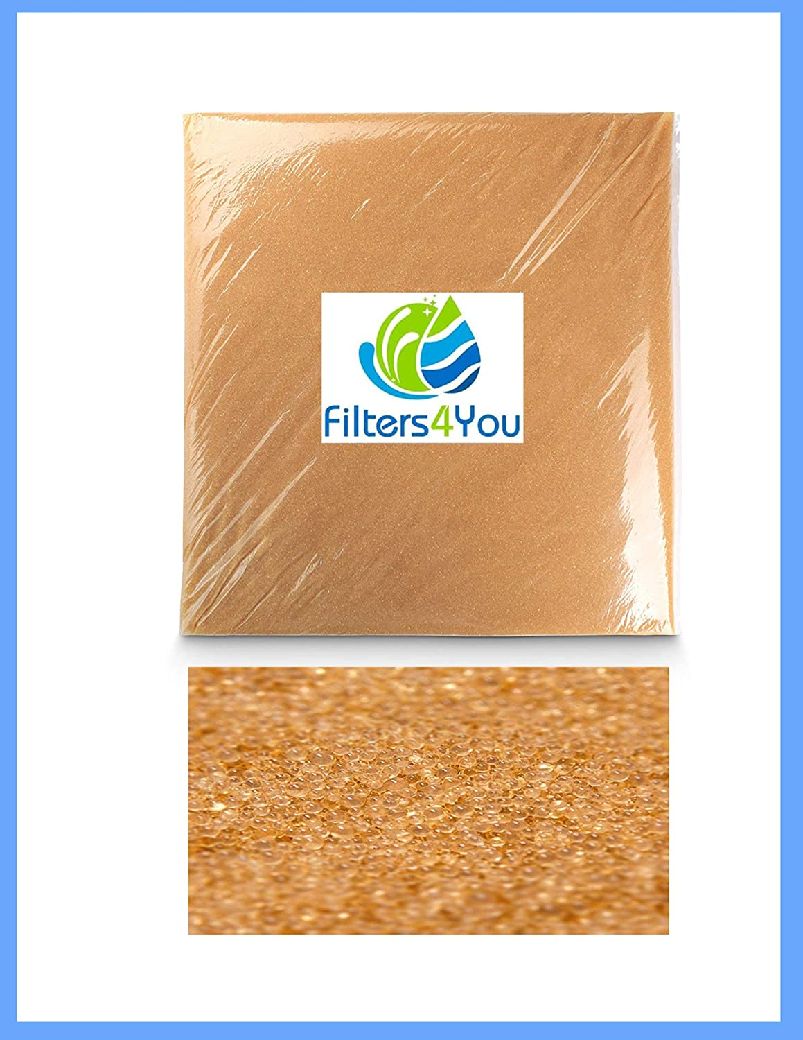 Water Softening Resin Softener Media Quality Replacement 100/% Ion Exchange 1CuFt