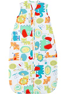 Grobag Doodle Zoo , 100% cotton Fabric Baby Sleeping bag For Silky Smooth Comfort 2.5