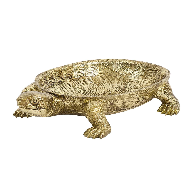 Howard Elliott Gold Turtle Tray 12193