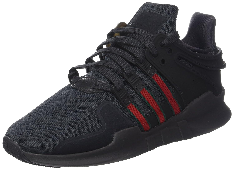 Adidas EQT Support ADV, Zapatillas de Deporte para Hombre 44 EU|Negro (Utility Black F16/Scarlet/Collegiate Green)