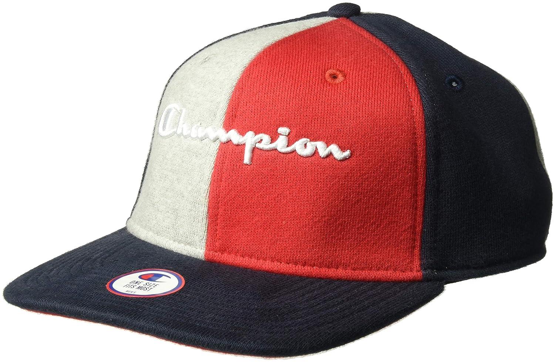 e50449eae1641 ... Champion LIFE Mens Reverse Weave Baseball Hat-Colorblock OS H0820 ...
