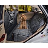 Homeyone Total Coverage Waterproof Dog Pet Travel Back Seat Cover Pad