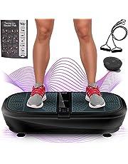 Sportstech Plateforme Oscillante & Vibrante VP300 Technologie de Vibrations à Bascule 3D, Puissance Moteur 2X1000W Max