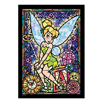 266-piece jigsaw puzzle Stained Art Tinker Bell stained glass tightly series (18.2x25.7cm)