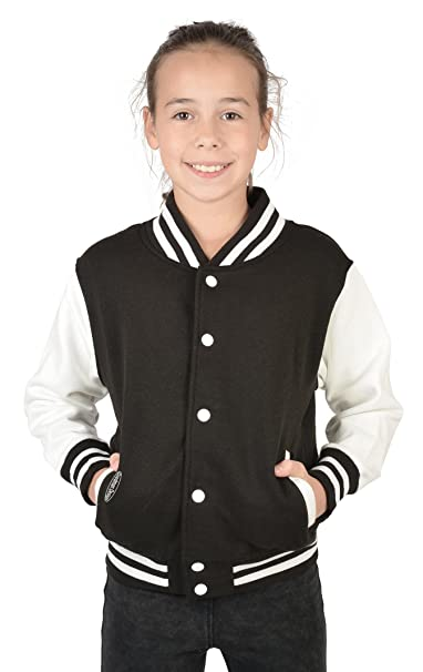 Shirts Damen College Sweatjacke mit Zahlendruck Tini schwarz