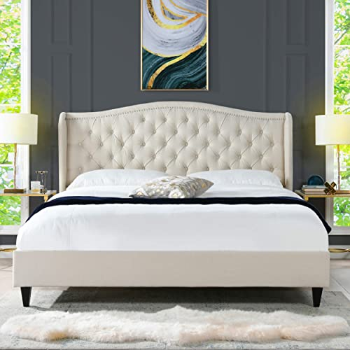 Jennifer Taylor Home Waverley Tufted Shelter Platform Bed