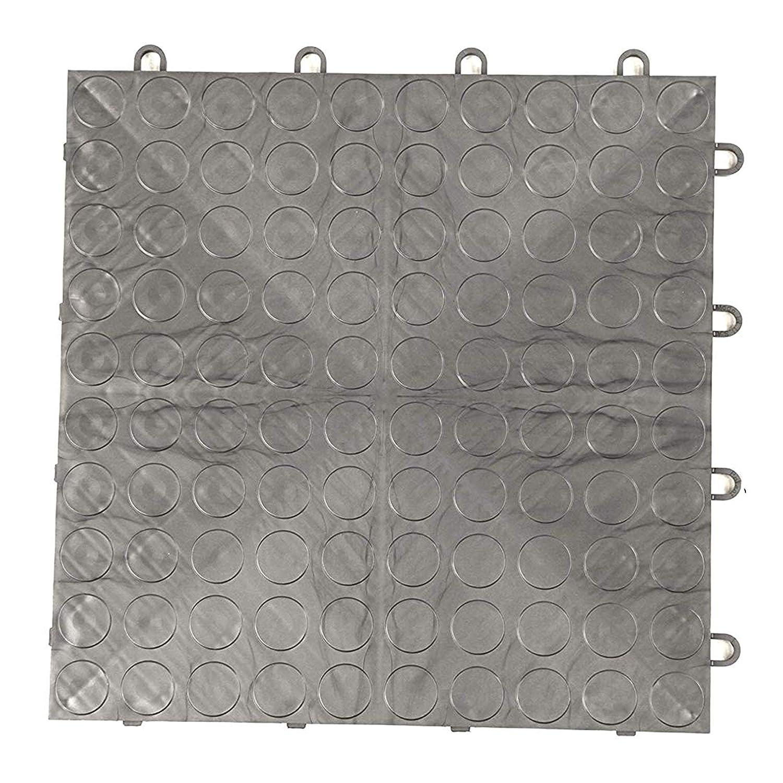 6x16 Guardian Platinum Series Indoor Wiper Floor Mat Black Rubber with Nylon Carpet