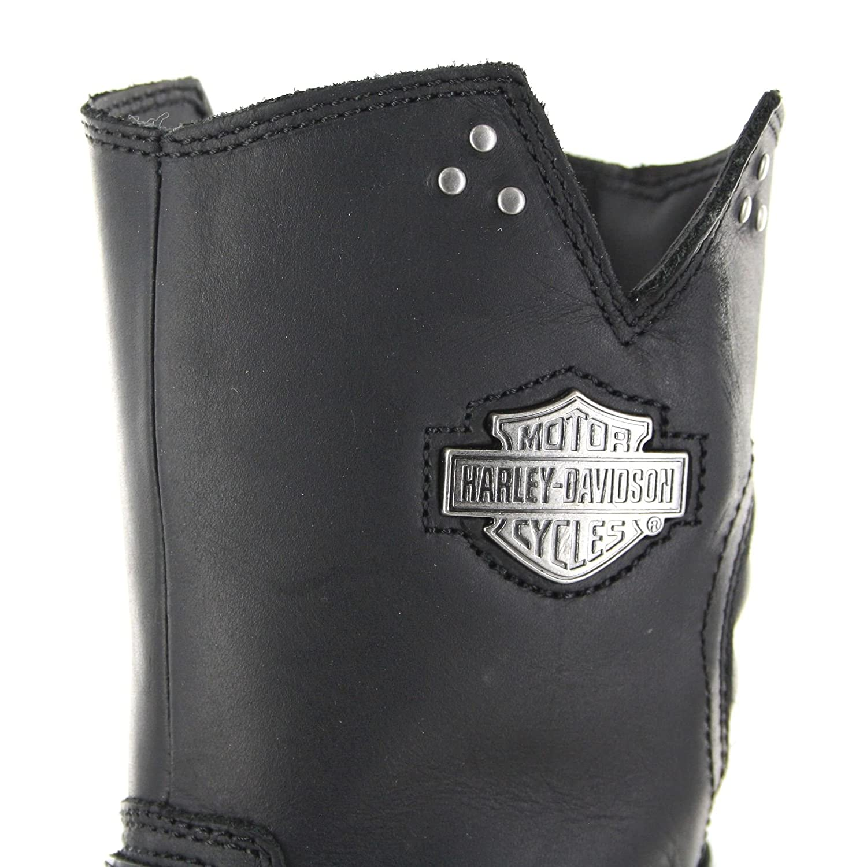 Harley Davidson d84089 Bar de Ford Negro Negro Negro Engine ersti Efel para Mujer Negro Biker Botas 196dea