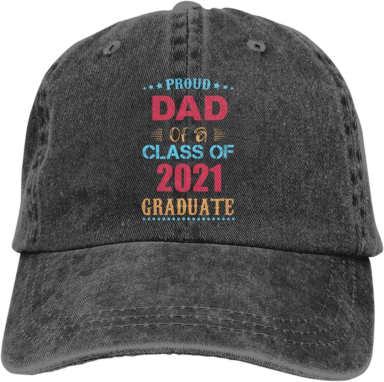 Qili Pride of 2021 Graduates Fashionable Lightweight Adjustable Male and Female Adult Baseball Cap Black
