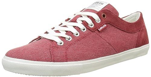 29630b90 Levi's Men's's Woods Low-Top Sneakers: Amazon.co.uk: Shoes & Bags