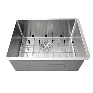 Nantucket Sinks Sr2318 23 Inch Small Radius Rectangle Stainless